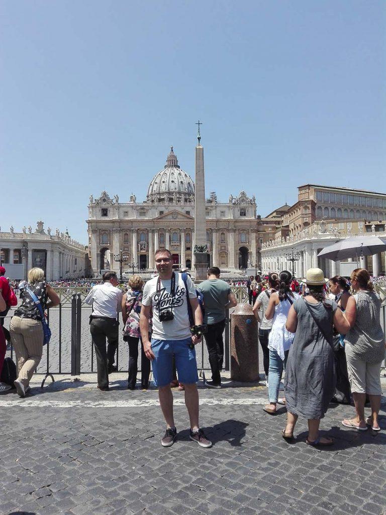 City break Rzym wycieczka do Watykanu na własną rękę