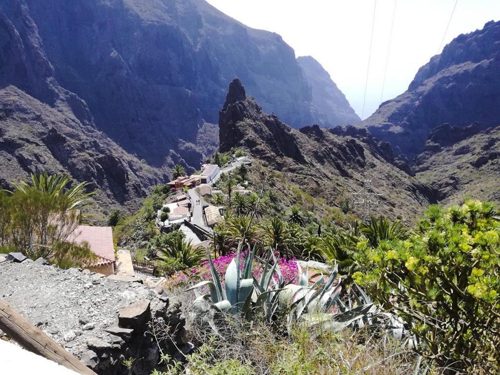 Masca Teneryfa turystyczna wioska i wąwóz Masca