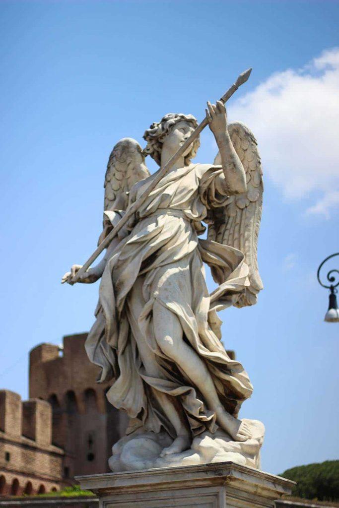 Rzym Most Świętego Anioła