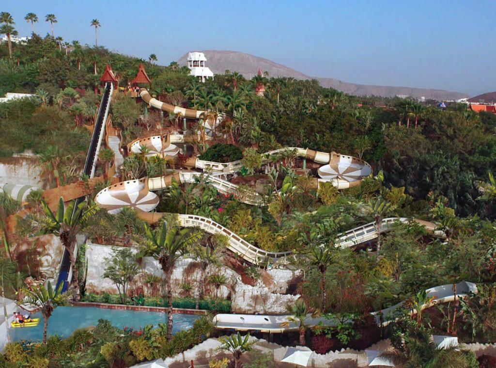 Siam Park Teneryda numer 1 park wodny na świecie
