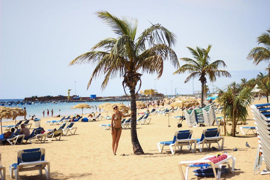 Playa de las Teresitas żółte plaże na Teneryfie