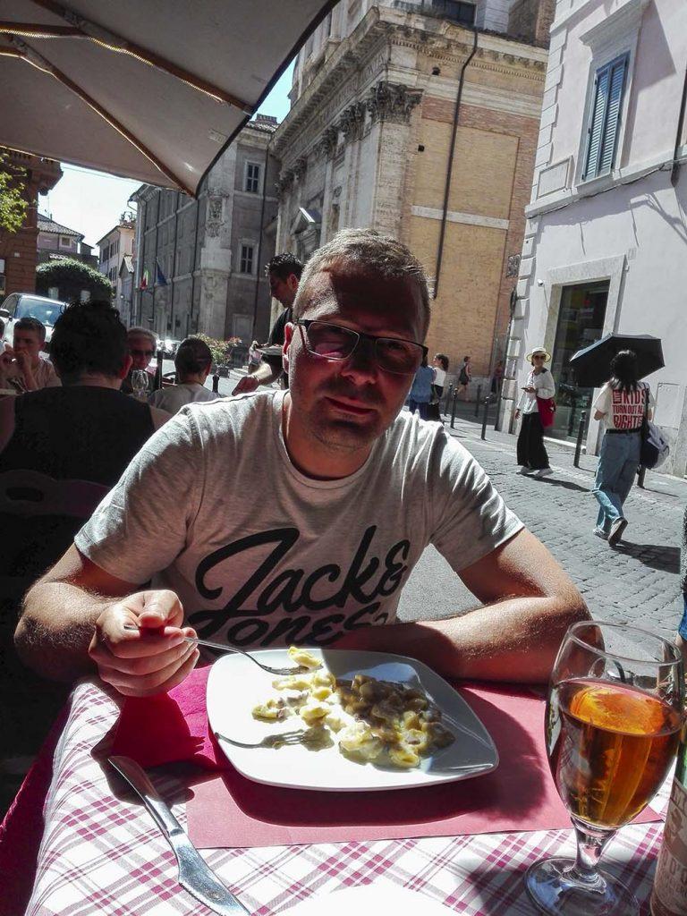 Restauracje w Rzymie blog o podróżach