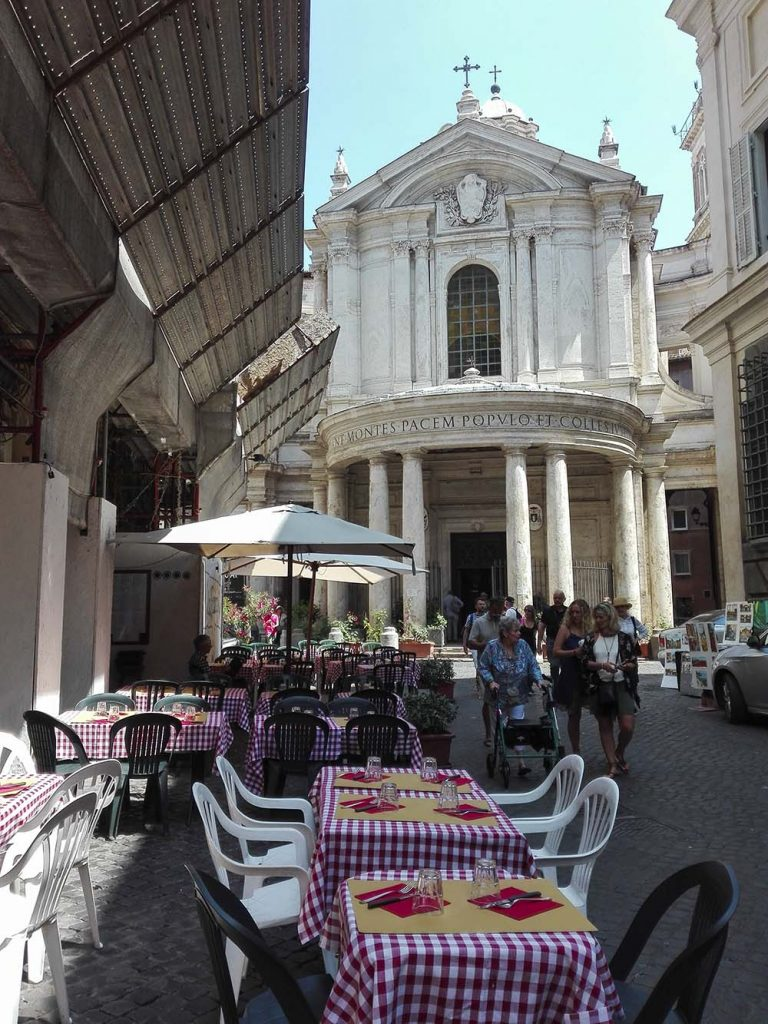 Rzym restauracje i zwiedzanie bez biura podróży