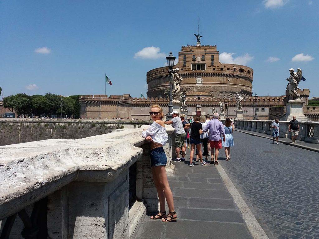 Zwiedzanie Rzymu Zamek Świętego Anioła
