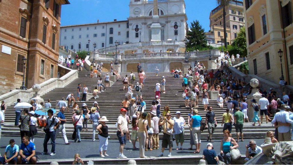 schody hiszpanskie rzym rzym co warto zobaczyć