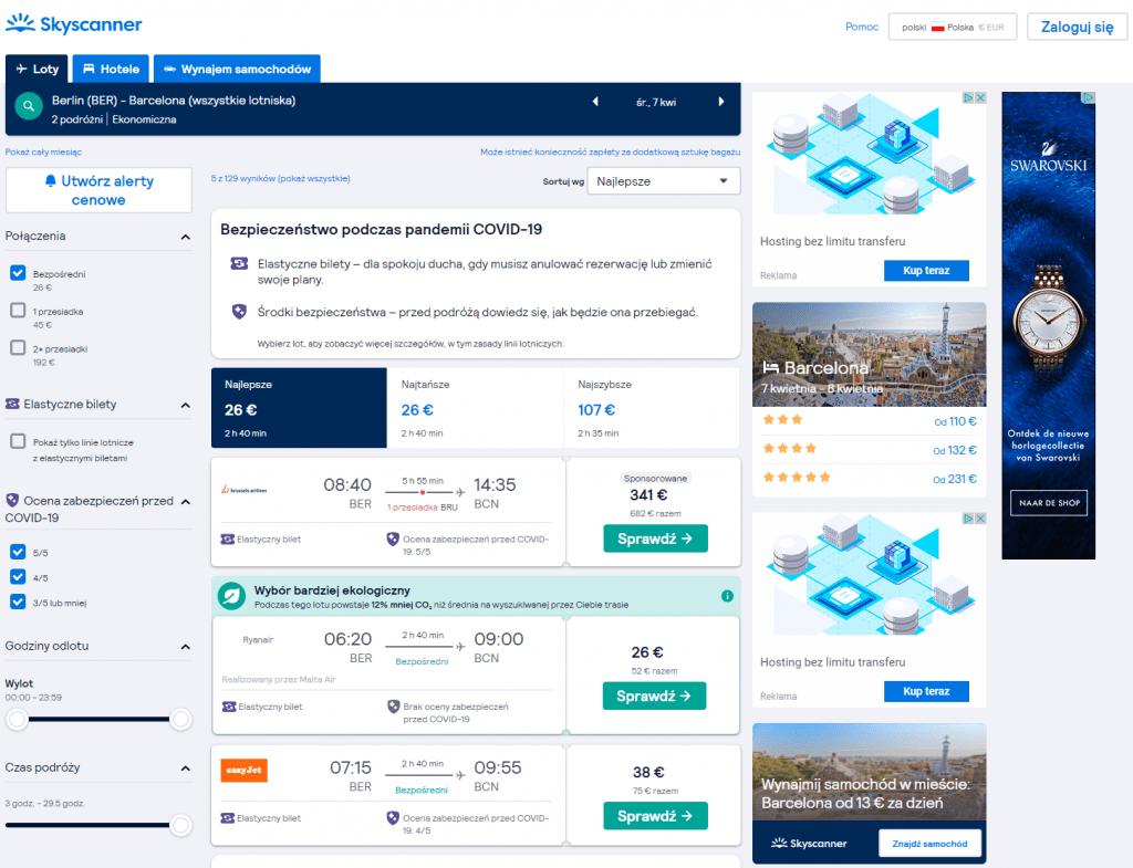 Jak kupić tanie bilety lotnicze do Barcelony
