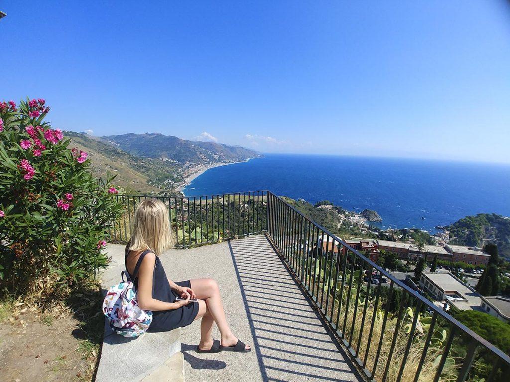 Sycylia Taormina miejsca widokowe które warto zobaczyć