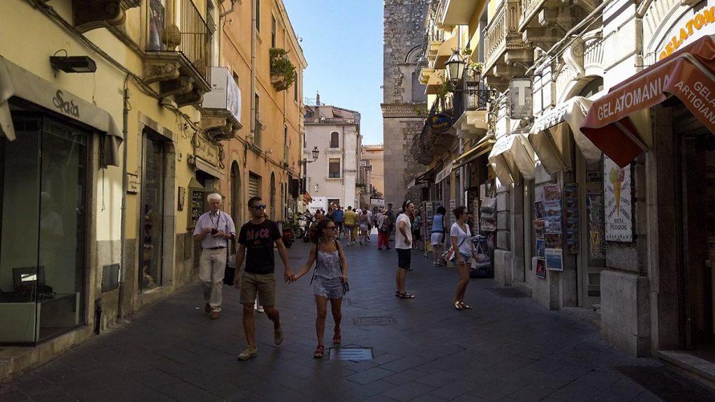 Taormina co zobaczyć Sycylia