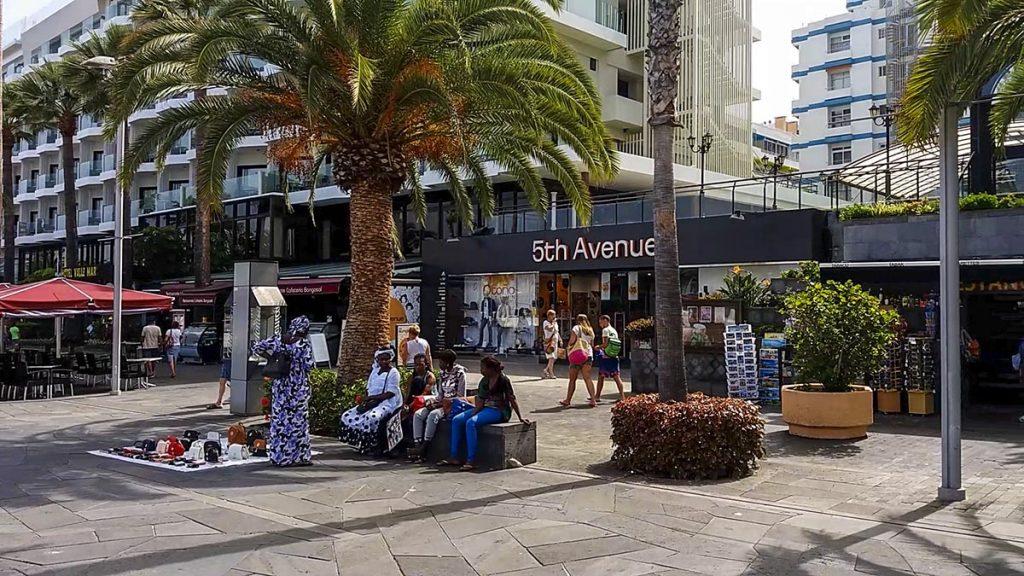 Miasto Puerto de la Cruz na Teneryfie