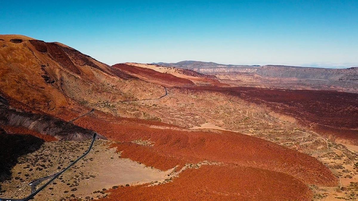Teide wulkan na Teneryfie