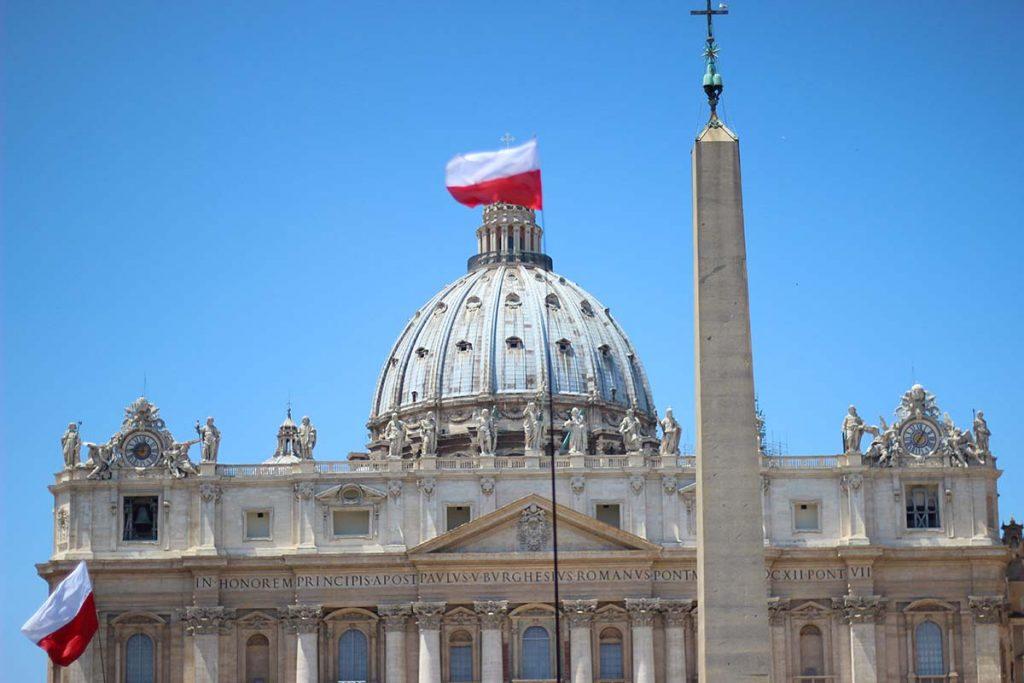Miasto Watykan i Bazylika Świętego Piotra w Rzymie