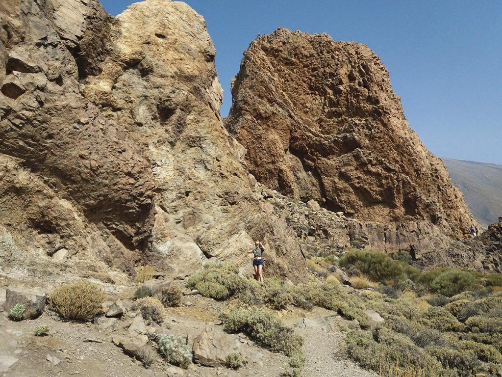 Wulkan Teide Teneryfa skały magmowe
