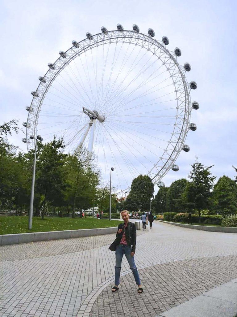 London Eye czyli wielki młyn diabelski w Londynie