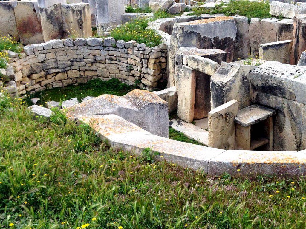 Świątynie Tarxien Malta megalityczne świątynie z 3500 lat przed naszą erą.