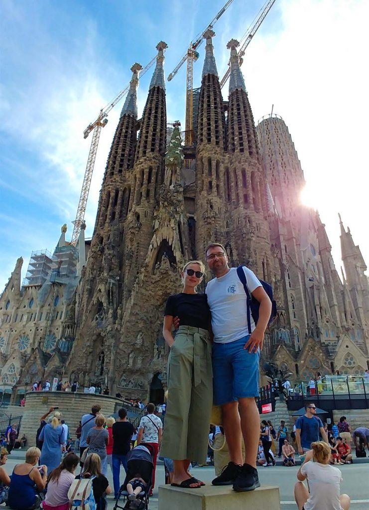 Barcelona podróż na własną rękę Hiszpania i Sagrada Familia