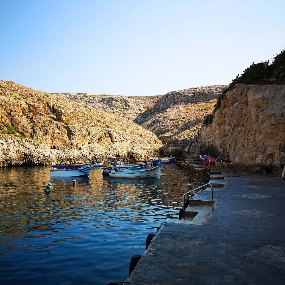 Blue Grotto atrakcje Malty