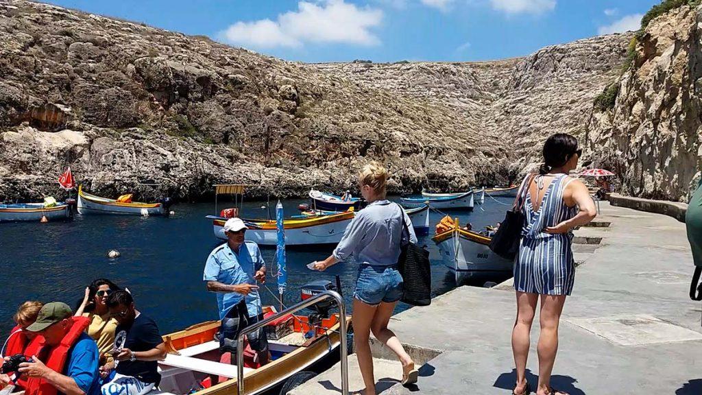 Blue Grotto rejs po błękitnych jaskiniach Malty