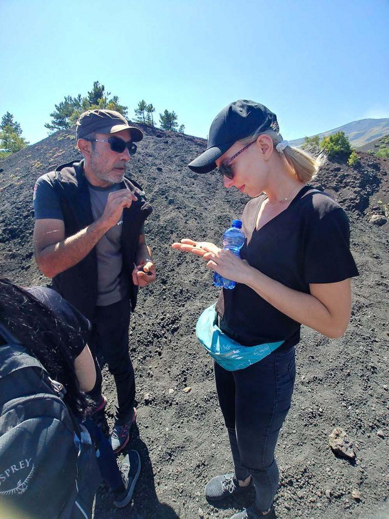 Wulkan Etna wycieczka z GoEtna z przewodnikiem