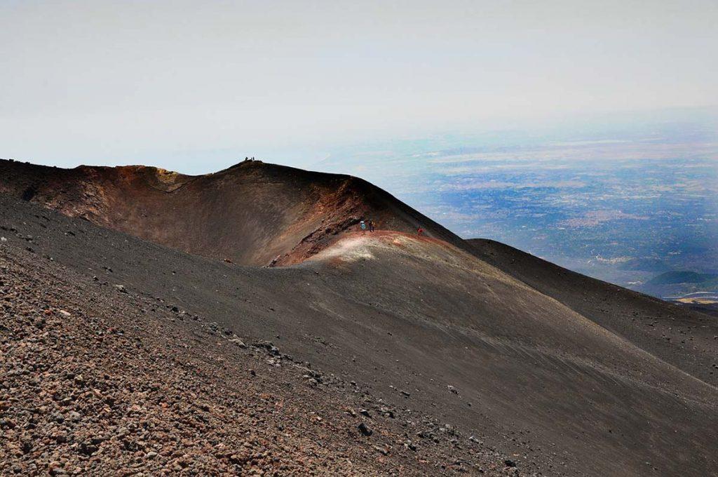 Wulkan Etna Sycylia
