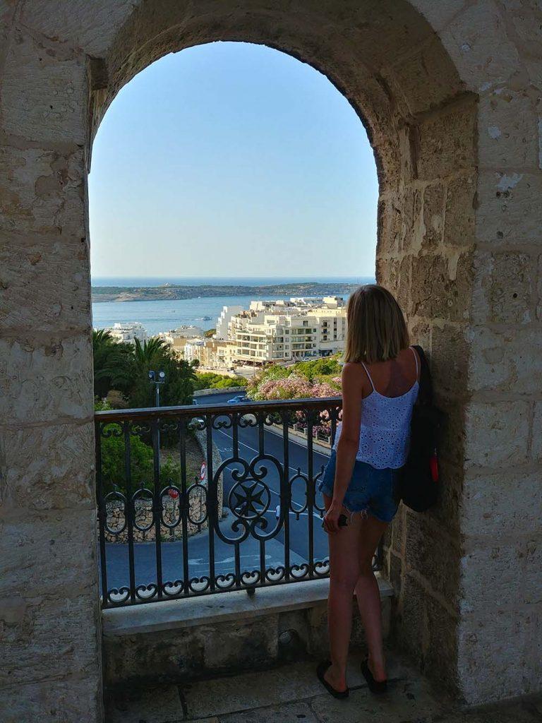 Podróż na własną rękę na Maltę 2019 rok miejscowość Mellieha
