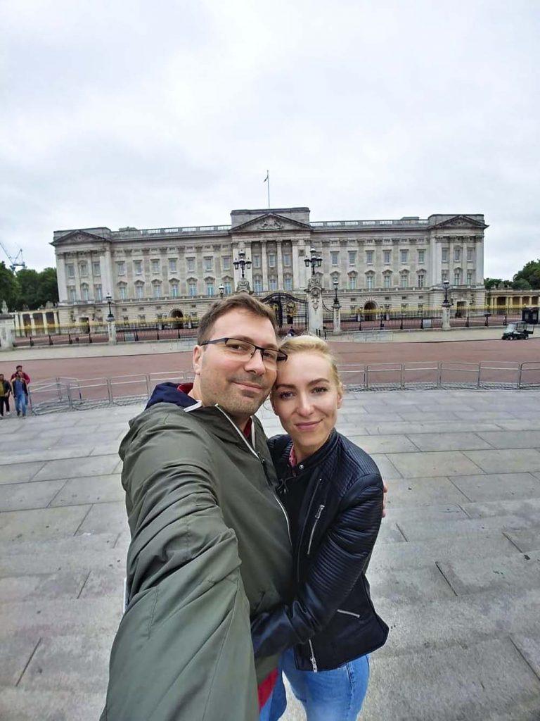 Podróż do Londynu i Pałac Buckingham