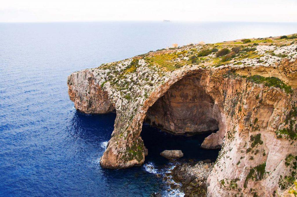 Malta atrakcje Blue Grotto co zobaczyć i co zwiedzić na wyspie