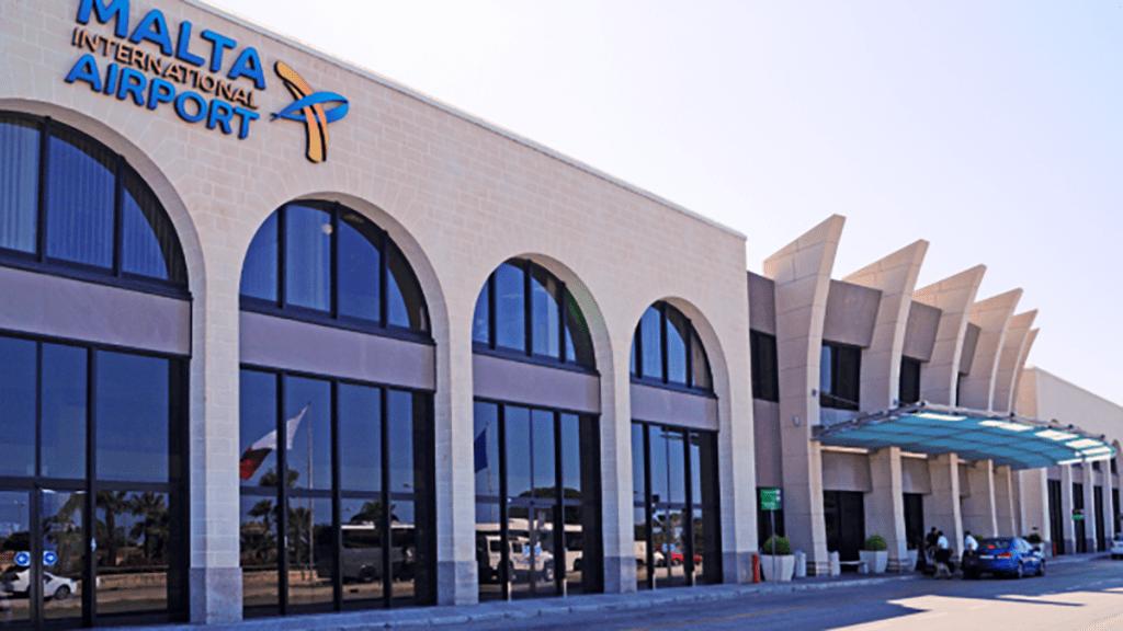 Malta lotnisko i transport z lotniska