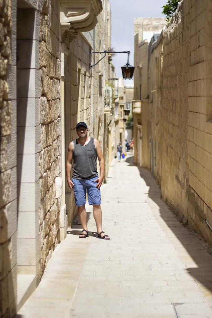 Malta Mdina dawna stolica Malty i atrakcja turystyczna