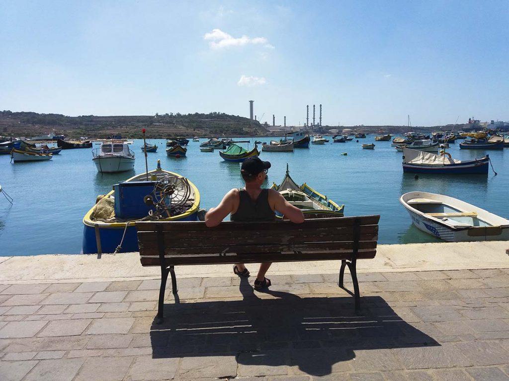 Malta Marsaxlokk miejsca które trzeba zobaczyć na wyspie
