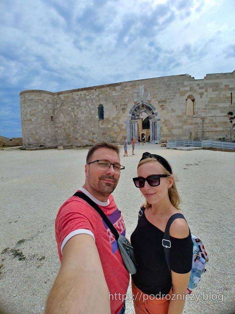 Syrakuzy Ortygia Castello Maniace atrakcje wschodniej Sycylii blog podróżniczy