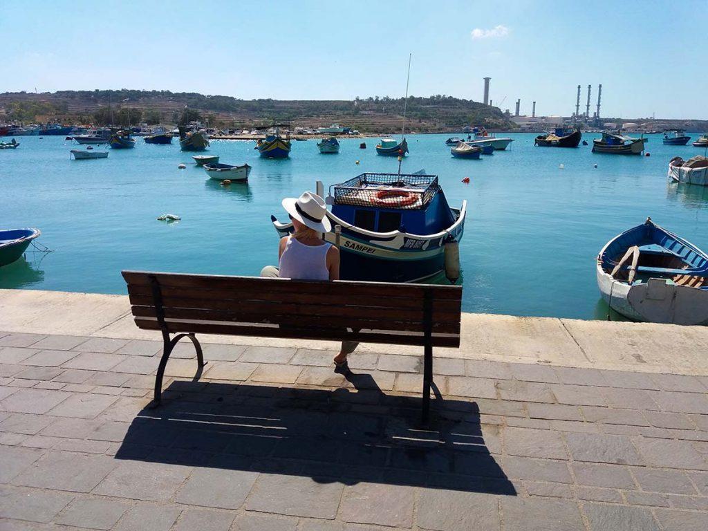 Marsaxlokk Malta wycieczka na własną rękę w 2018 roku