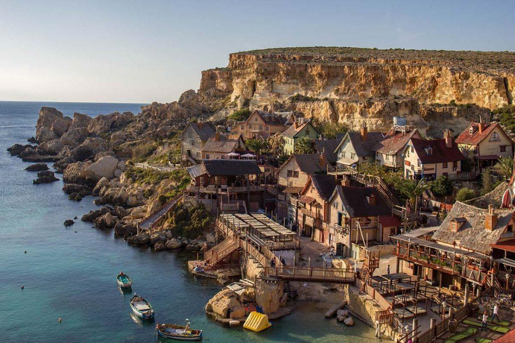 Wioska Popeye'a na Malcie