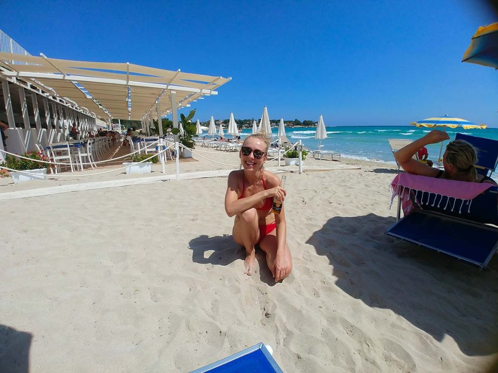 Sycylia najlepsze plaże do plażowania Fontane Bianche