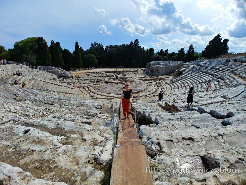 Teatr Grecki Syrakuzy Sycylia