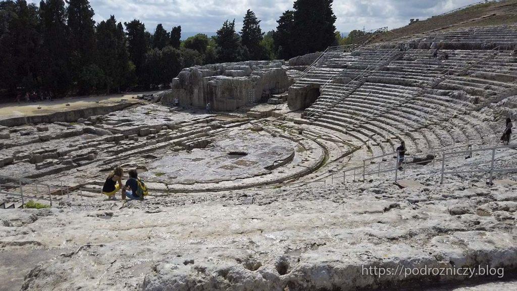 Teatr Grecki w Syrakuzach Sycylia co zobaczyć co zwiedzić