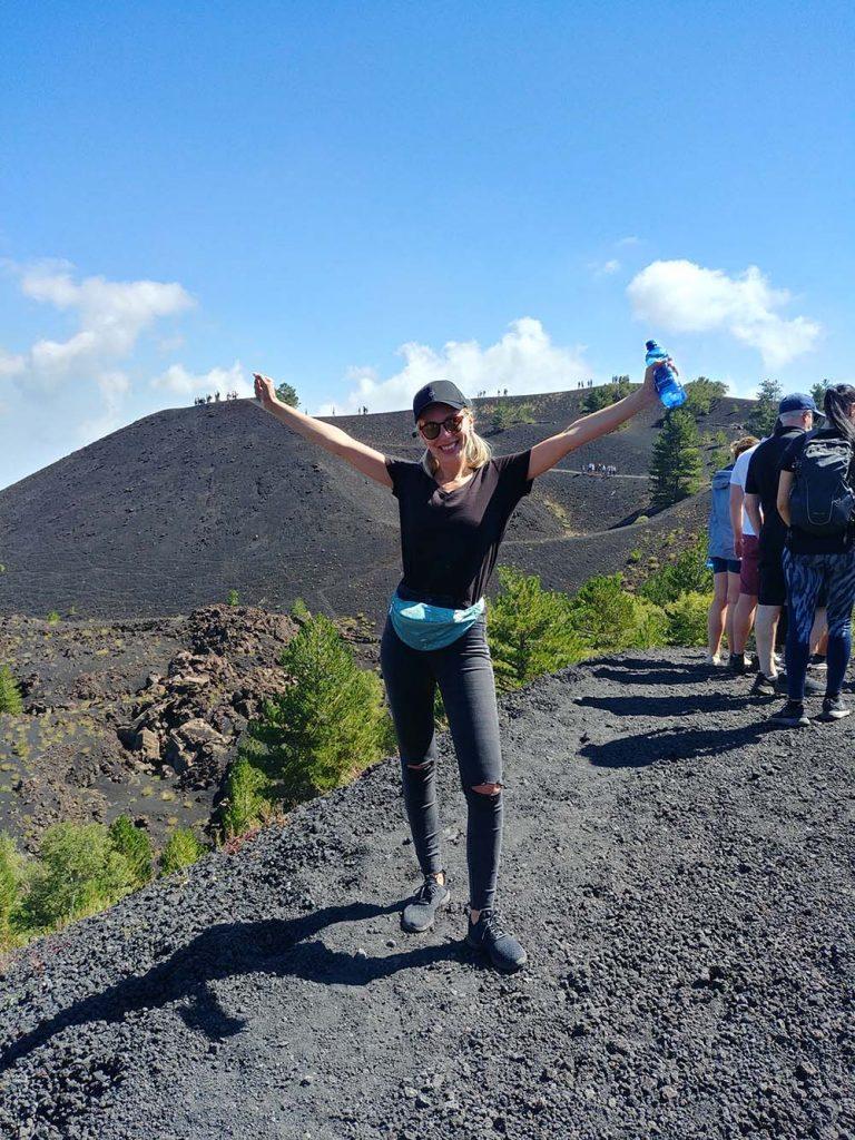 Wulkan Etna Sycylia jak wejść na Etnę