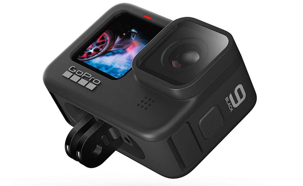 Kamera action cam bardzo przydatna przy nagrywaniu filmów z podróży GoPro Hero 9