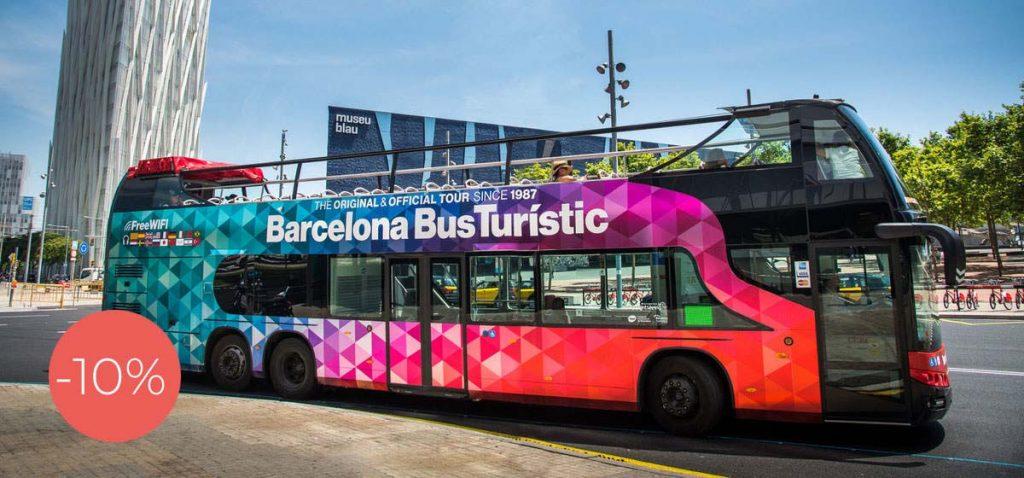 Barcelona autobusy Hop on Hop off