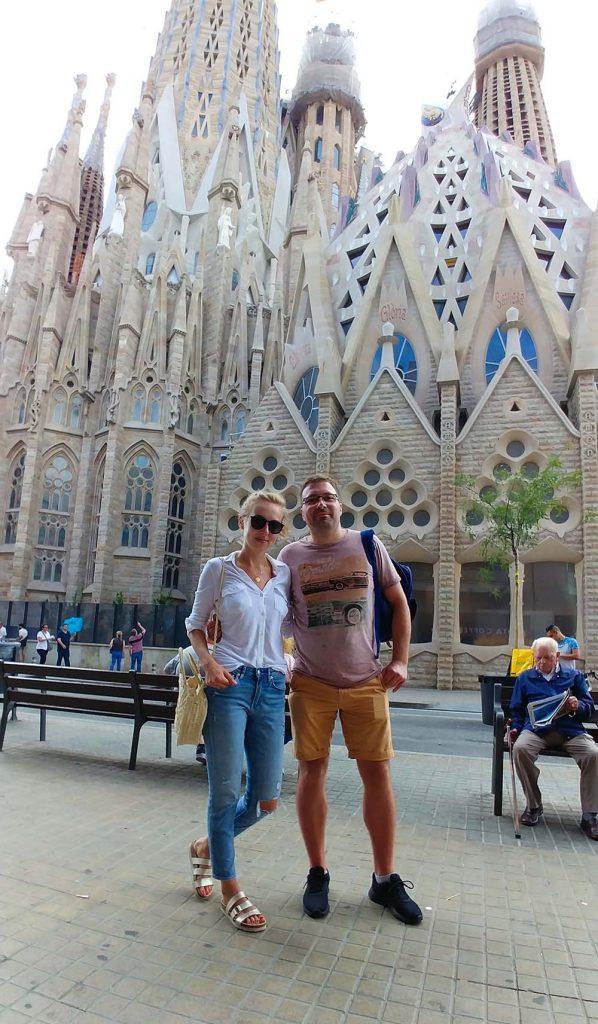 Barcelona co zwiedzić w weekend atrakcje Sagrada Familia