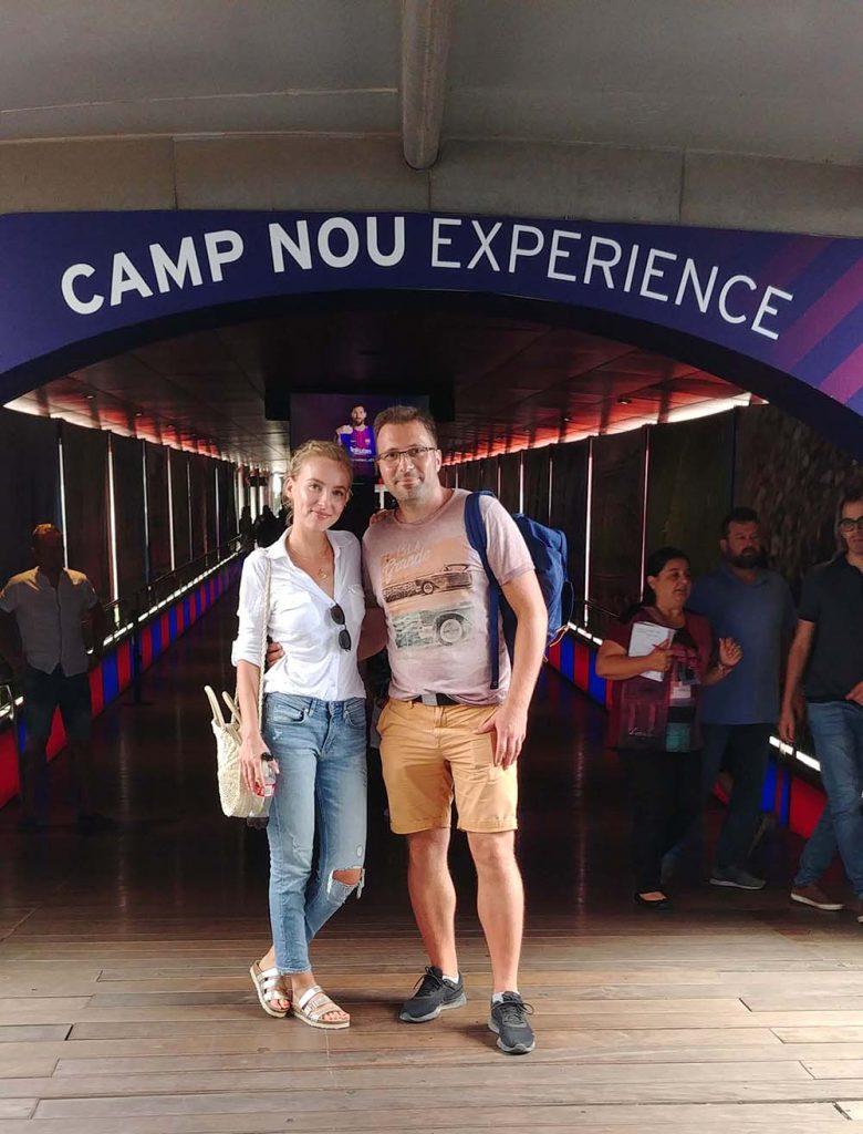 Camp Nou Experience zwiedzanie stadionu Barcelony