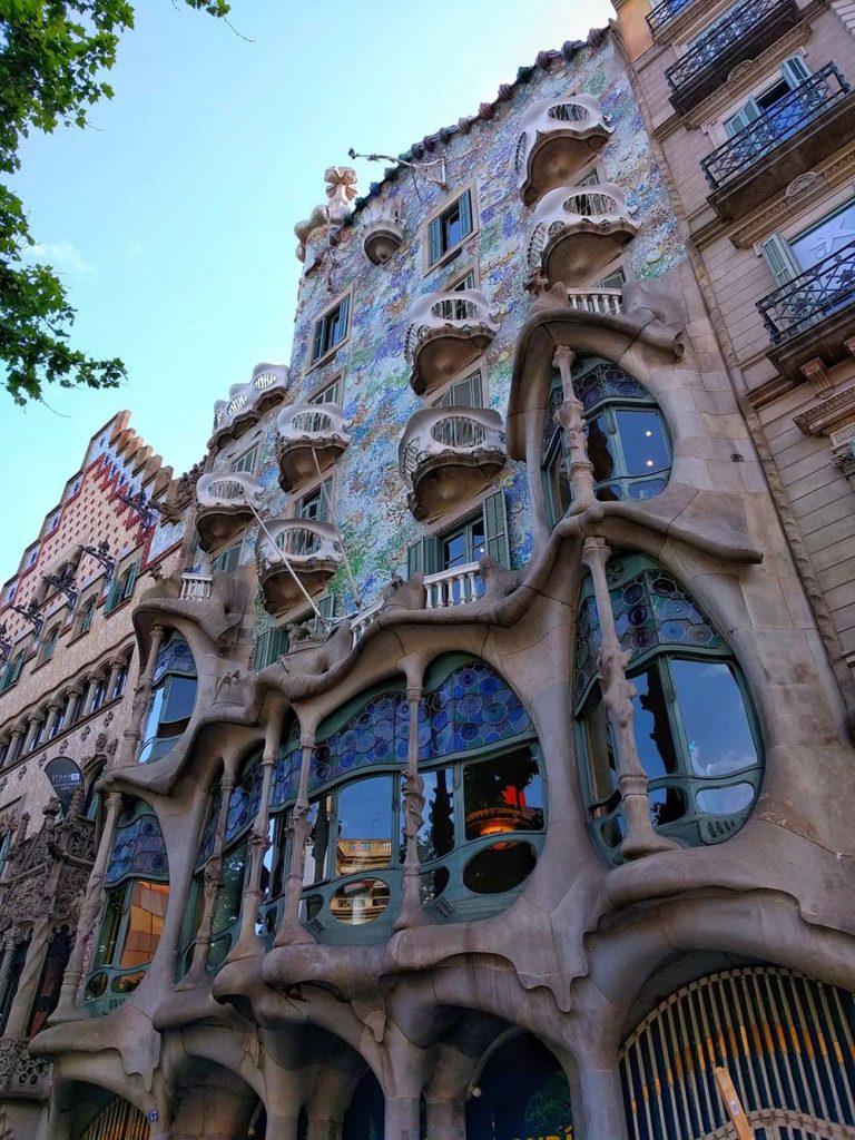 Co zwiedzić w Barcelonie w 2 dni Casa Batllo Antoni Gaudi