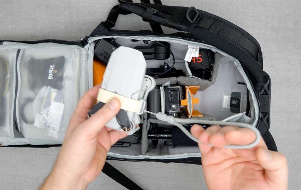 Mavic Mini od DJI to idealny dron do podróżowania, dzięki swoim niewielkim rozmiarom