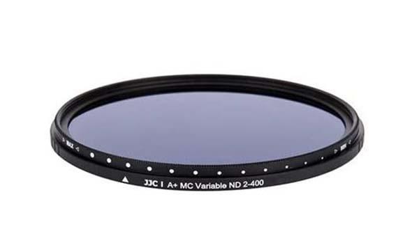 Filtr ND zmienny JJC - akcesoria fotograficzne i wideo dla podróżnika