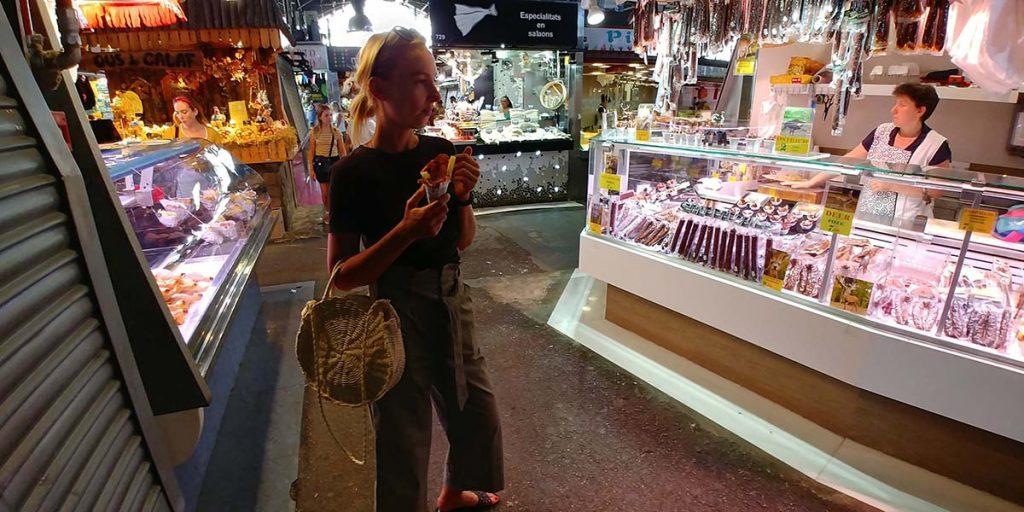 Barcelona La Boqueria Market co zobaczyć w weekend