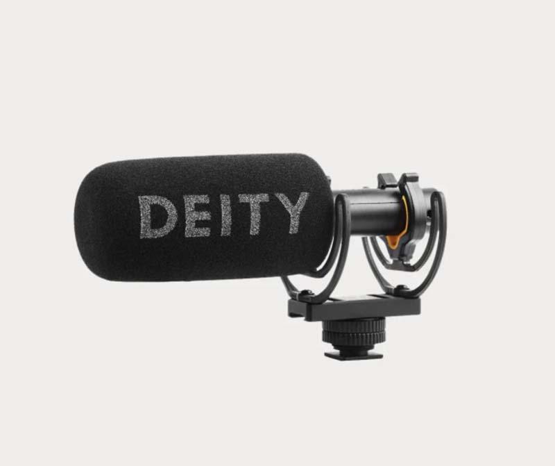 Mikrofon do nagrywania audio w podróży Shotgun microphone Deity D3
