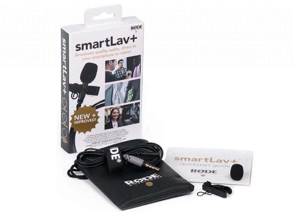 Rode SmartLav+ mikrofon do nagrywania filmów w podróży i do vlogowania