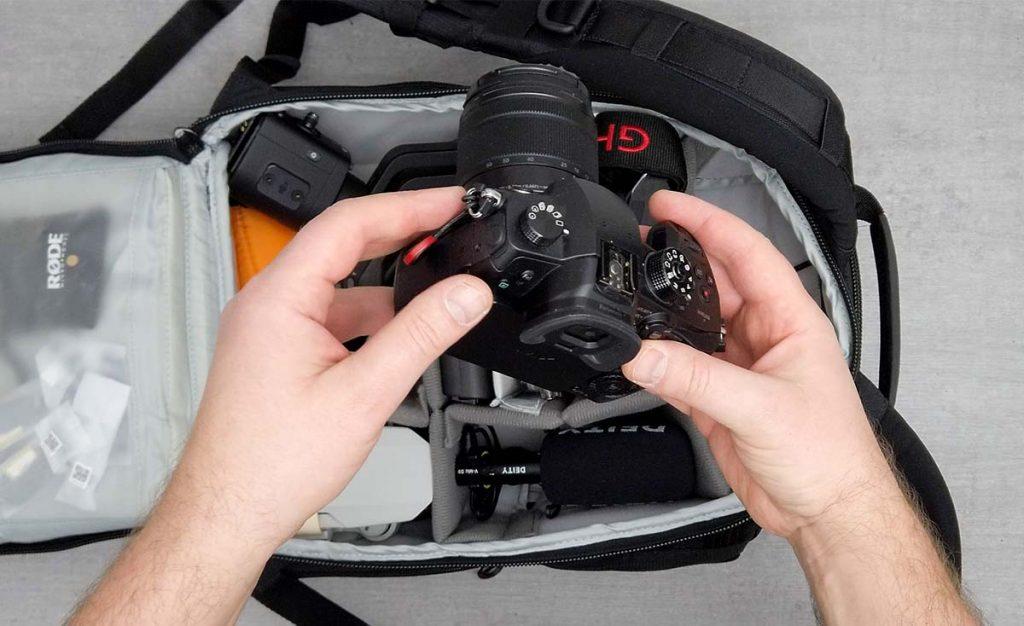 Plecak na podróże aparat wideo Panasonic Lumix GH5