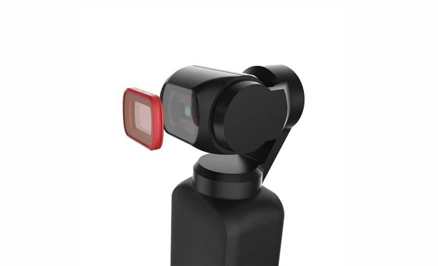 Filtry ND do nagrywania kamerką DJI Osmo Pocket w podróży