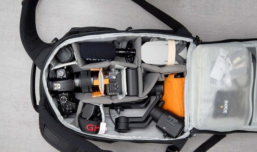 Plecak fotograficzny i wideo na podróże