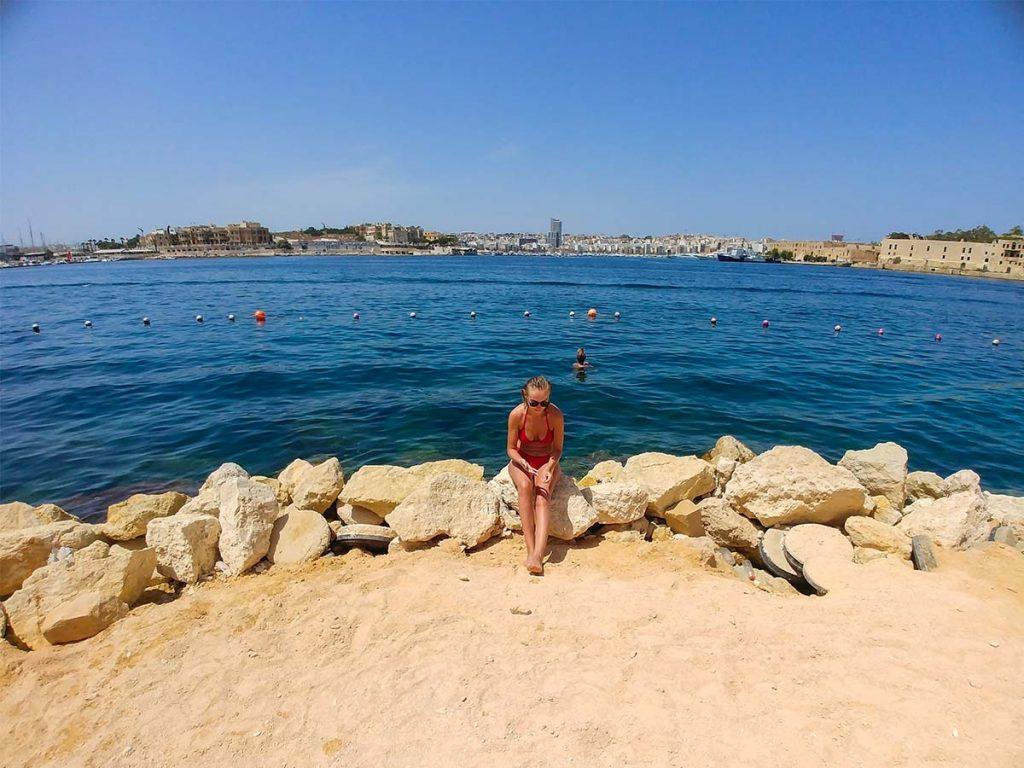 Valletta hotel z dostępem do morza, plażą, basenem i spacerkiem do centrum